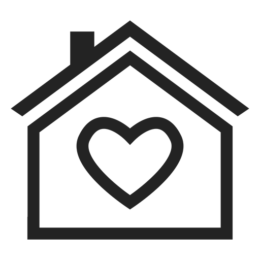 Home With A Heart Icon