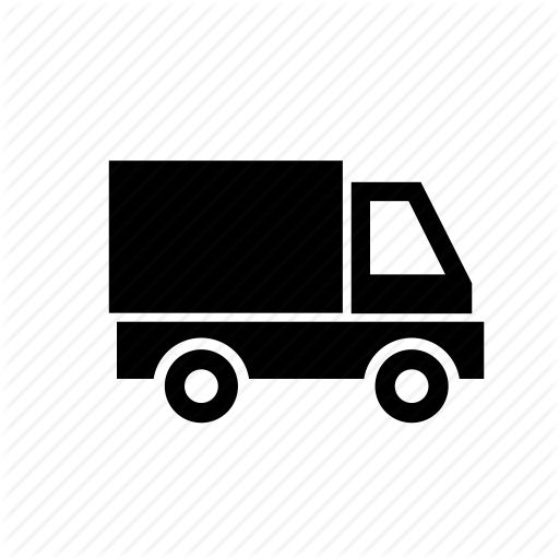 At Home, Delivery, Mail, Truck, Van Icon