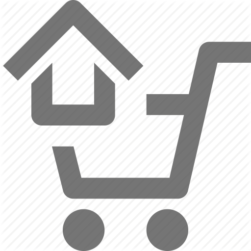 Basket, Buy, Cart, Ecommerce, Home, House, Shopping, Store Icon