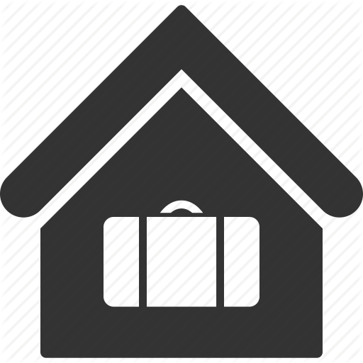 Building, Home, House, Lockers, Port, Real Estate, Storage Icon