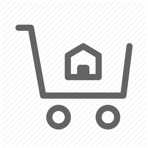 Buy, Cart, Home, House Icon
