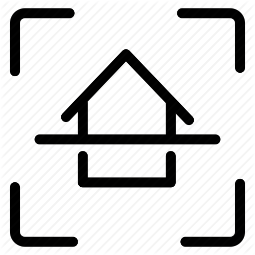 Apartment, Architecture, Home, House, Inspection, Interior, Scan Icon