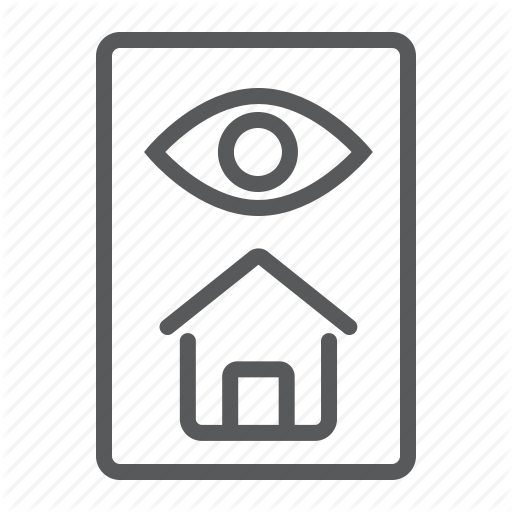 Estate, Eye, Home, House, Inspect, Inspection, Real Icon