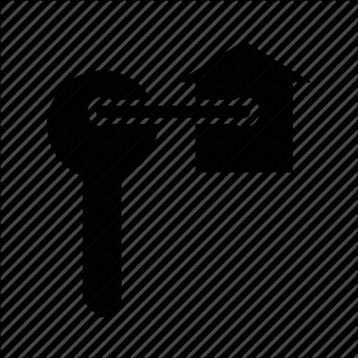 Home Key, House Dealer, House Key, House Owner, Key Icon