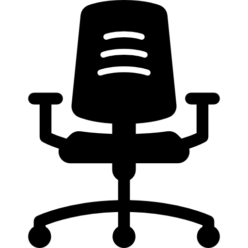 Bright Chair Icon Bright Chair Icon