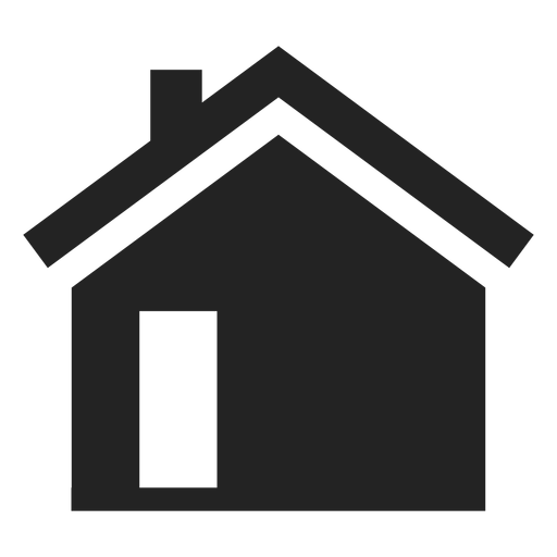 Simple Black Home Icon