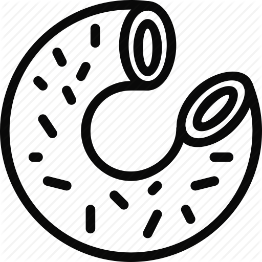 Homer Simpson Outline Icon