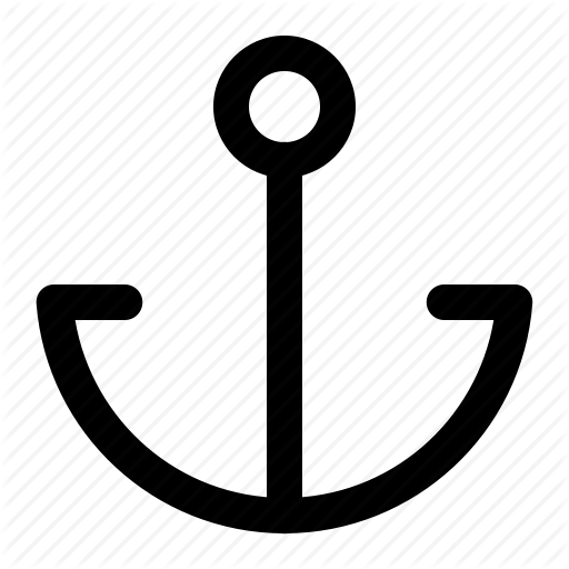 Anchor, Hook, Ship Anchor, Ship Hook Icon