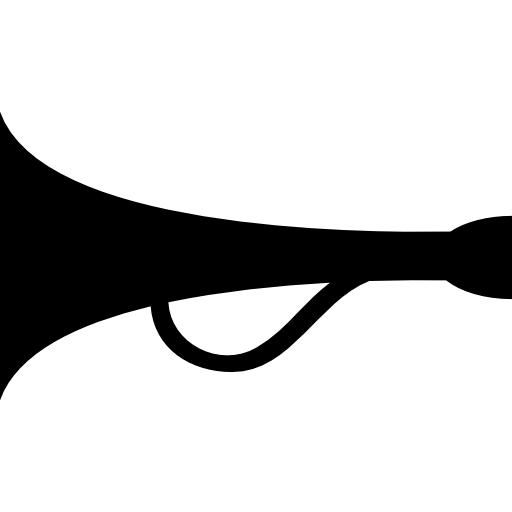 Horn Speaker With Handle