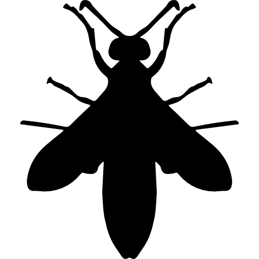 Wasp Silhouette Icons Free Download