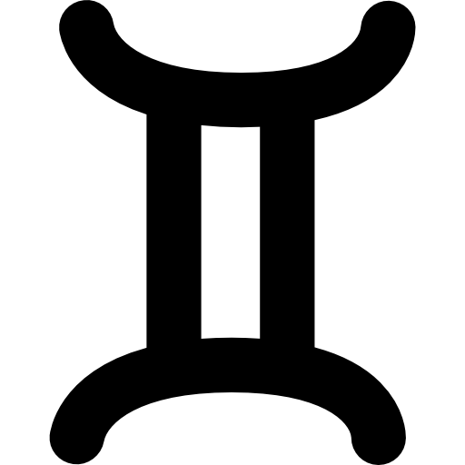 Gemini Zodiac Sign Symbol Icons Free Download