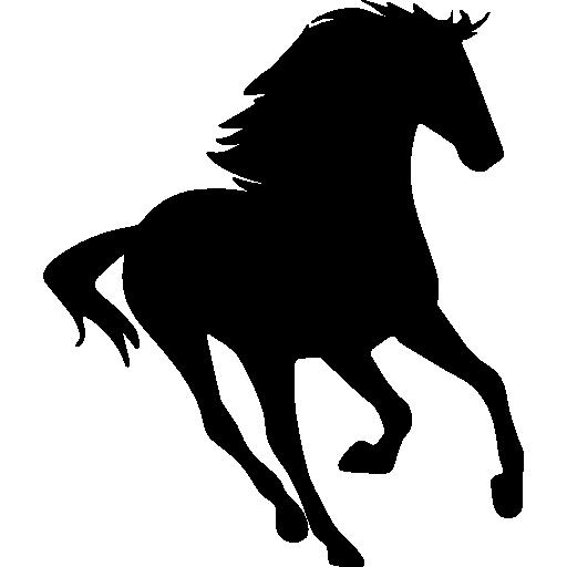 Horse Silhouette, Animals, Horse, Running, Run, Running Horse Icon