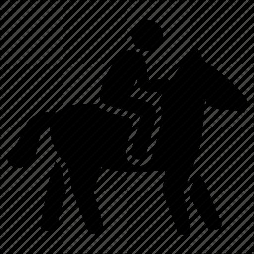 Equestrian, Horse, Horse Riding, Horseback, Jockey Icon