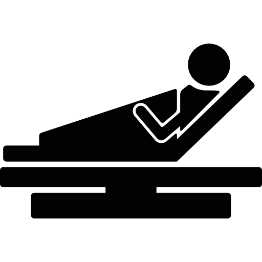 Patient In Hospital Bed Icons Free Download