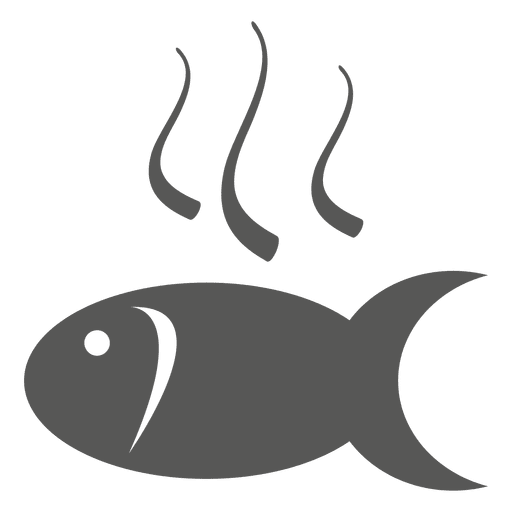 Hot Fish Fry Icon