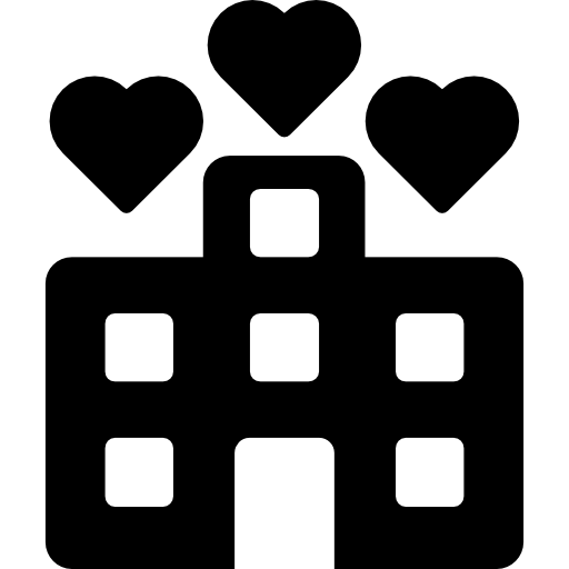 Hotel Rooms For Valentine Icons Free Download