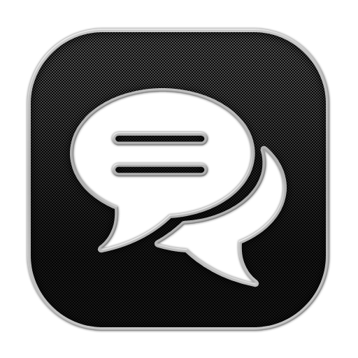 Chat Icon Blogger Iconset Rafiqul Hassan