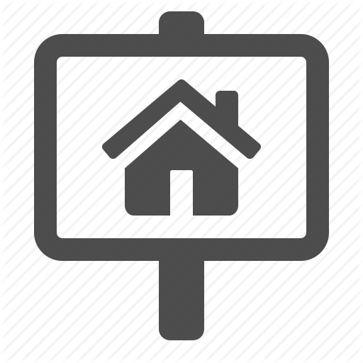House, Real Estate, Rent, Sale, Sign, Signs Icon