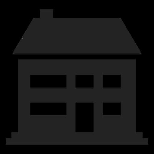 Big Traditional Home Icon