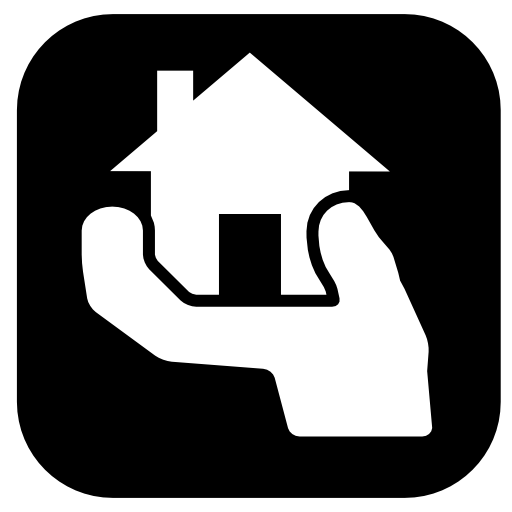 Hands Holding Up House Icon Download Free Icons