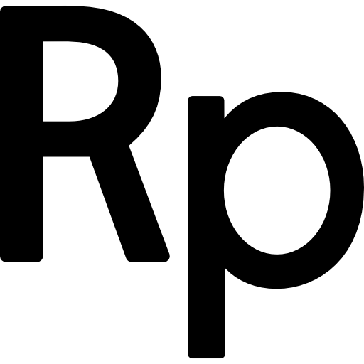 Indonesia Rupiah Currency Symbol