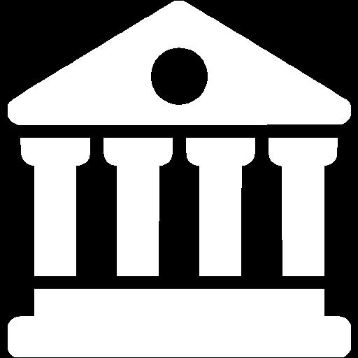 White Library Icon