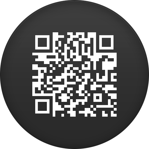 Qr Code Icon Circle Iconset
