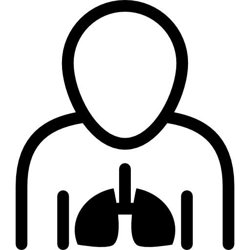 Lungs Inside The Human Body Icons Free Download