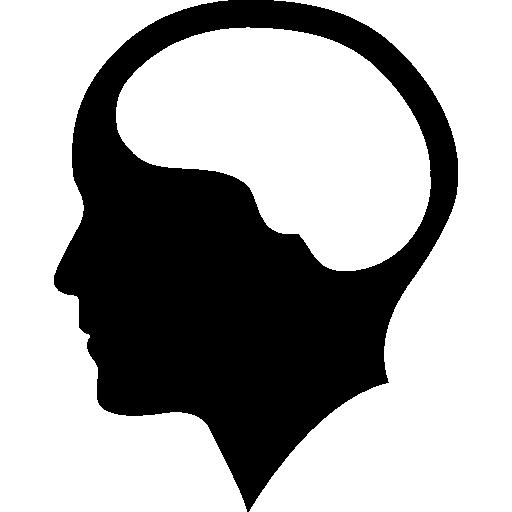 Brain Inside Human Head Icons Free Download
