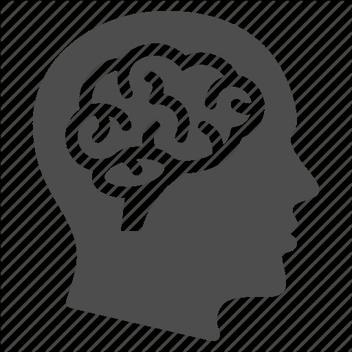 Brain, Education, Human Head, Learning, Man, Mind, Thinking Icon