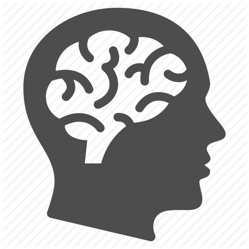 Brain, Education, Human Head, Man, Mind, Psychology, Thinking Icon