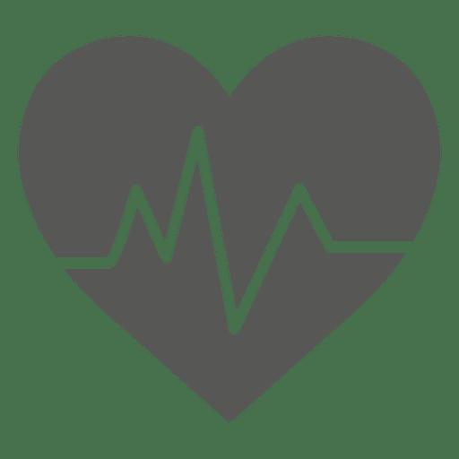 Heartrate Heart Icon