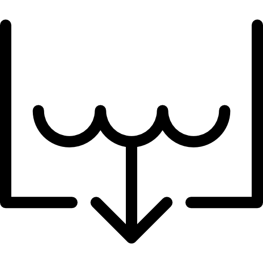 Drain, Auger Icon