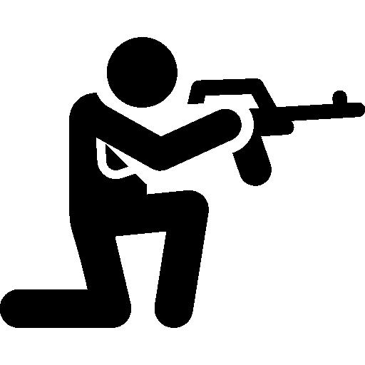 Gun, Crime, Arm, Shotgun, Pistol, Weapons, Miscellaneous, Hunter Icon