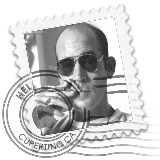 Hunter S Thompson Mai Icon Free Search Download As Png