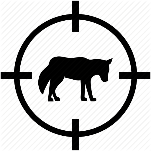 Animal, Hunting, Lonely, Wild, Wolf Icon