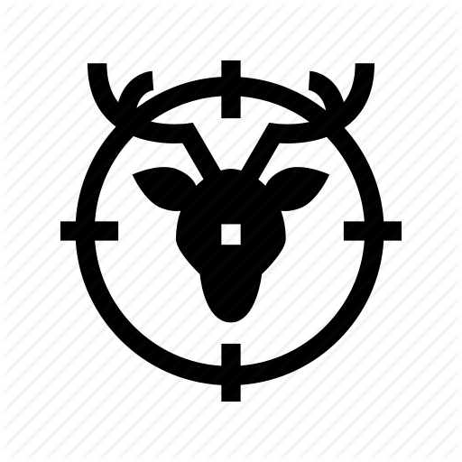 Animal Hunting, Hunt, Hunting, Sport, Target Icon