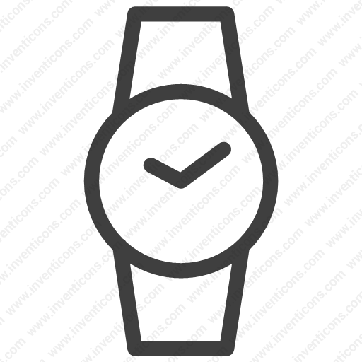 Download Hand Watch,clock,time,watch,alarm Icon Inventicons