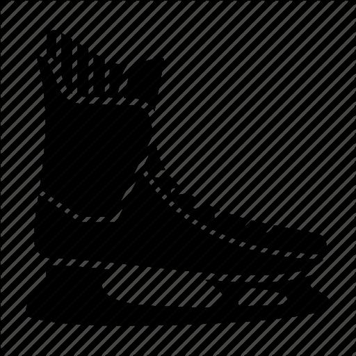 Hockey, Ice Skates, Ice Skating, Sport, Winter Icon
