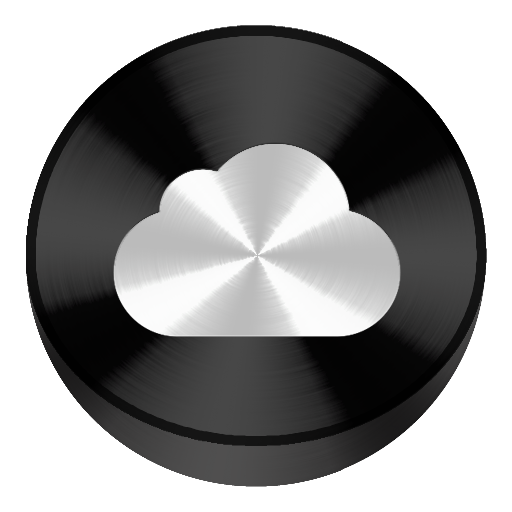 Icon Icloud Library