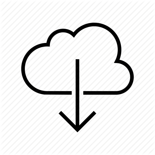 Backup, Cloud, Download, Downloading, Icloud, Syncronization Icon