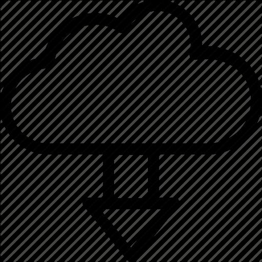 Cloud Download, Computing, Download, Icloud, Storage Icon