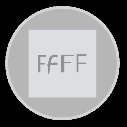 Font Book Icon Mac Stock Apps Iconset Hamza Saleem