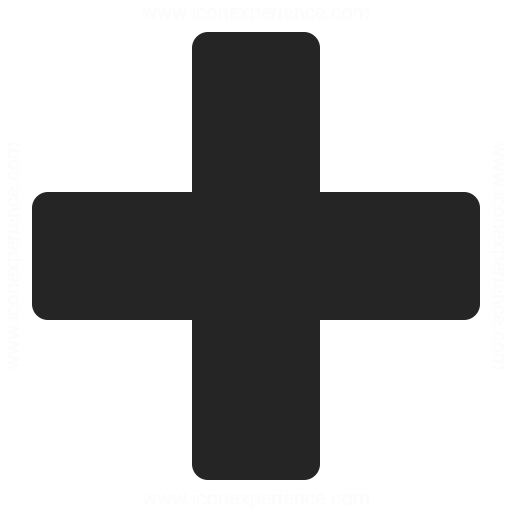 Plus Icon Iconexperience