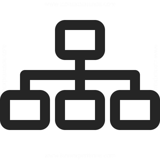 Elements Hierarchy Icon Iconexperience