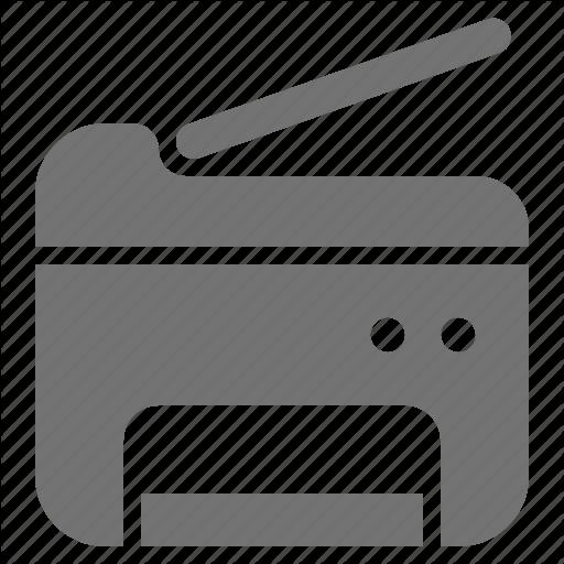 Copy, Machine, Printer, Scan, Scanner Icon