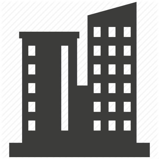 Corporate Building Icon Furniture Walpaper