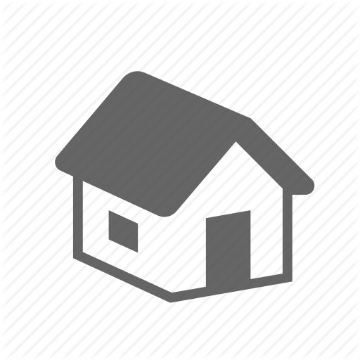 Building, Construction, Door, House, Roof, Wall, Window Icon