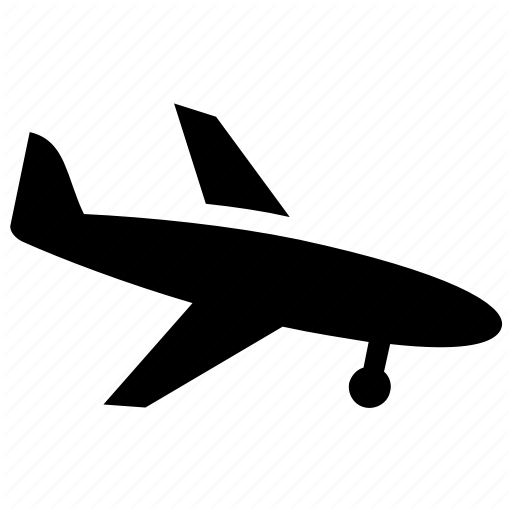 Airport, Flight, Landing, Plane, Runway Icon
