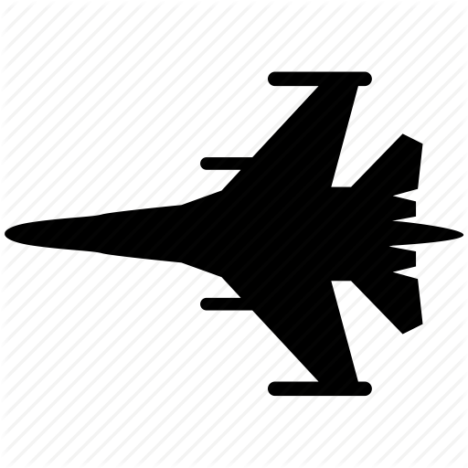 Aircraft, Airplane, Army, Military, Shooter, War Icon